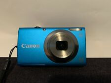 Canon PowerShot A2300 HD 16.0mp 5x Zoom Digital Camera - Blue Tested