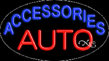 New Auto Accessories 30x17 Oval Real Neon Business Sign Withcustom Options 14418