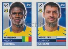 Champions League 16/17 - Sticker - QFK11+12 - Moussa Doumbia+Aleksandr Gatskan