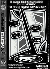 Yamaha FZ1 2006 Front Fender / Mudguard Decal Kit Motografix 3D Gel Protector