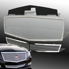 Mesh Grille Fits 2008 2013 Cadillac Cts Main Upper Chrome Grill Insert Combo Fits 2010 Cadillac Cts