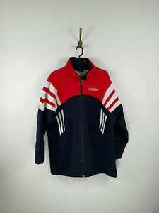 Vintage Adidas 90's Parka Jacket Full Zip Men Size: S