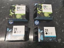 HP 21 22 Printer Ink Cartridges For HP Deskjet F4180 F2180 F2280