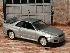 Nissan Skyline GT-R R34 Tuner Street Racer Car 1/64 Scale Limited Edition E23