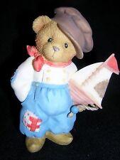 Cherished Teddies Jan European Exc. 2001 Dutch Boy - New Never Displayed