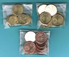 ANDORRA - EUROS 2014  LOTE  10 SETS x 3 MONEDAS 0,05 0,10 y 0,20 EUROS  SC  UNC