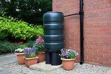 150 Litre Round NEW Premium Green Water Butt Rainwater Kit Barrel Heavy Duty