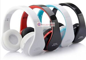 Bluetooth Wireless Cordless foldable Headset Stereo Headphone Sports Earphone
