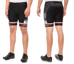 Mens Louis Garneau Delfino Bike Shorts Print Black Size XS-XL NWT