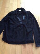 Motherhood Maternity Nursing Sweater Top Shirt Black Small