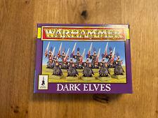 Warhammer Fantasy - Dark Elves / Dunkelelfen - Dark Elf Warriors - 1994 - NEU
