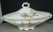 New Era by William Brunt (W.B.P.C.) Oval Lidded serving Bowl Roses