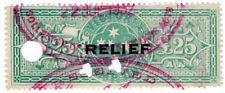 (I.B) Australia - Victoria Revenue : Relief Tax £25