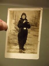 Original photo. 1938. Young Soviet tankman.