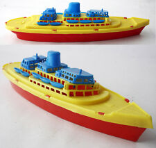 VERY RARE 70'S PLASTIC CRUISE SHIP BOAT #3 MADE IN GREECE GREEK 38cm NEW !