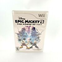 Epic Mickey 2 The Power of Two (Nintendo Wii, 2012) Brand NEW Factory Sealed
