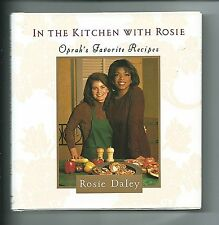 In The Kitchen With Rosie COOK BOOK low fat sugar salt Oprah health clean eating