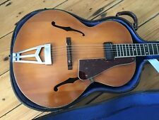 1940s Abbott Victor Burlington III Archtop Guitar - Made in England + Case