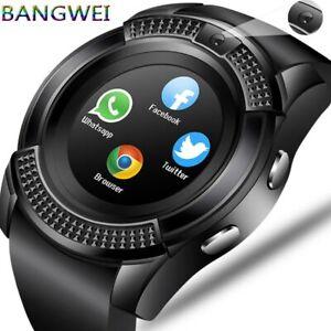 Reloj Inteligente Para Hombres Y Mujeres Con Cámara Bluetooth Android Teléfono