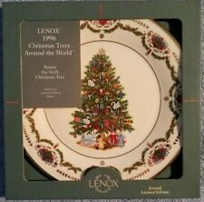 Lenox 1996 Christmas Trees Around The World Collector Plate #6 Russia w/box
