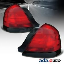 For 2000-2011 Ford Crown Victoria (2 Bulbs Model) Tail Lights Left Right Pair