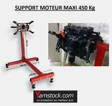 SUPPORT MOTEUR PIED DE SUPPORT ROTATIF 450KG SUR ROULETTES POUR GARAGE UNIVERSEL