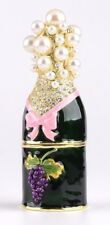 Faberge Bottle Trinket box hand made by Keren Kopal & Austrian crystals