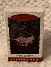 1996 Hallmark Murray Airplane Ornament Kiddie Car Classics Pedal Car #3 Nib