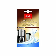 Melitta Anti-calc Tablets for Filter Coffee Machines and Kettles, 4 x 12g