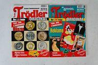 2 x Trödler Sammlermagazin 10/2013 und 04/2014 B5454