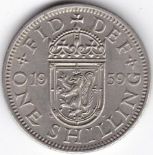 1959 Scottish One Shilling***Collectors***Key Date***UNC***