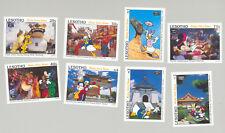 Lesotho #979-988 Disney 8v & 2v S/S Imperf Proofs