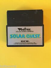 vectrex arcade system cartride solar quest
