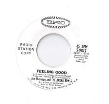 JOE SHERMAN Feeling Good / Heartbeat 45 RECORD DJ PROMO MODERN SOUL FUNK