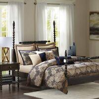 Madison Park Signature Wellington King Size Bed Comforter Duvet 2-In-1 Bed Set