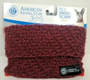 Pet Snood Scarf SMALL  Pull over  American Kennel Club  New