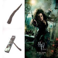 Harry Potter BELLATRIX BLACK Magical Wand Zauberstab in Geschenkbox