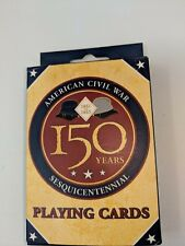 American Civil War 150 Years Playing Cards New In Package