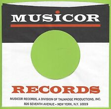 MUSICOR REPRODUCTION RECORD COMPANY SLEEVES - (pack of 10)