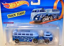 HOT WHEELS 2017 TRACK STARS CUSTOM VOLKSWAGON VW HAULER TRUCK