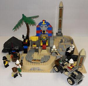 Lego 5978 Adventurers Desert Sphinx Secret Surprise COMPLETE w/ figures & manual