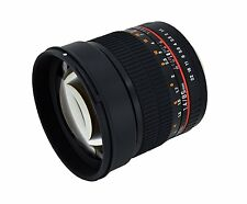 Samyang 85mm F1.4 Aspherical Lens with Built-in AE Chip  for Nikon Digital SLR