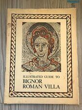 vintage guides , bignor roman villa & Other Original Materials
