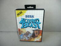 CIB Altered Beast for Sega Master System, COMPLETE IN BOX