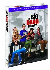 THE BIG BANG THEORY - STAGIONE 3 (3 DVD) NUOVO, ITALIANO