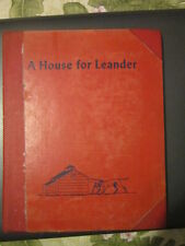 A House for Leander by Rebecca Sprinkle 1953