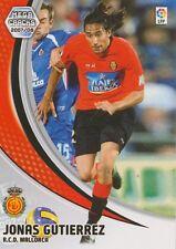 N°193 JONAS GUTIERREZ # ARGENTINA RCD.MALLORCA CARD PANINI MEGA CRACKS LIGA 2008