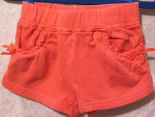 """Gymboree """"Jungle Gem""""  Bow & Ruffled Pocket Rose Coral Shorts, 12-18 mos."""