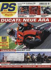 PS 8/02 Hornet S FZS 600 Fazer FZR 1000 Exup YZF-R1 EXC TL 1000 RSV Mille ZX-12R