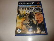 PlayStation 2  PS 2  Delta Force: Black Hawk Down - Team Sabre